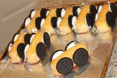 fun car treat.   since twinkles are coming back this is a fun way to have a Twinkie welcome back party!