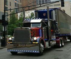 Big truck...