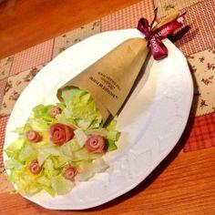 Bouquet salad