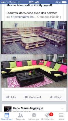 Palet furniture