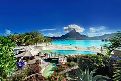 One of the Honeymoon stops :) Le Meridien Bora Bora