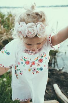 . flower crowns, flower headbands, dress, daughter, flower power, flower children, stylish kids, flower girls