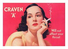 Craven A ad 1939
