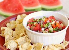 ... watermelon salsa sound wonder watermelon recip snack watermelons salsa