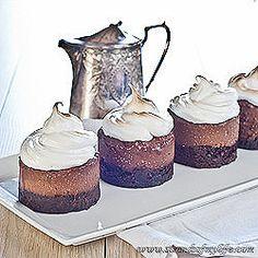Chocolate Mousse Meringue Cake – gluten-free. http://www.strandsofmylife.com