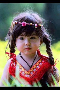 a baby hippie