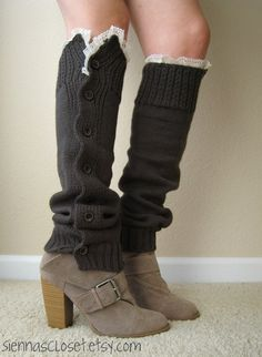 {Leg Warmers} these are so cute!