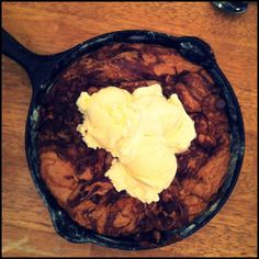 homemade pizookie