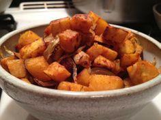 Sweet Potato Home Fries (Vegan)