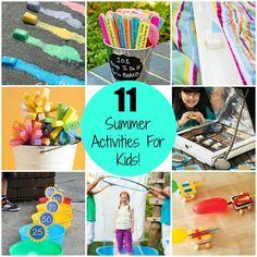11 Amazing Summer Activities for kids