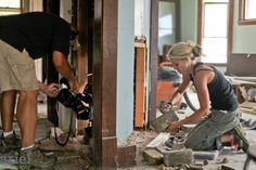 Nicole Curtis Rehab Addict -Dollar House-    Behind the scenes #Ariel Photography