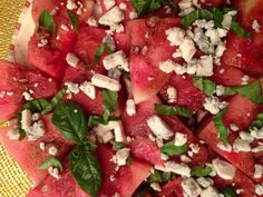 Strawberry Balsamic Salad with Basil and Feta | From Our Kitchen ...