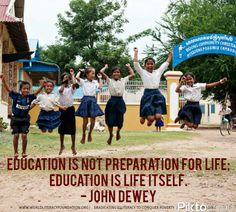 #Education is life itself. With Opportunity International $1 can help provide educational opportunities for children around the world.