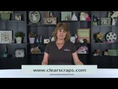 Quick Ribbon Threader By Clear Scraps-quick & easy way to thread a ribbon, wherever you want one!