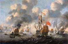 Th Dutch burn down the English fleet June 1667