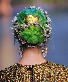 Dolce Gabbana SS2014 #green