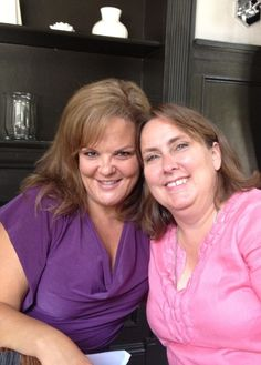 Dabney and Linda at the taping of the first New Ricki Lake Show. Love these Ladies #FriendsofRicki