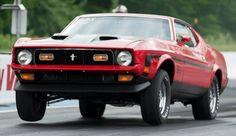 1972 Mustang Mach1.