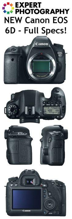 Full Frame! Canon 6D