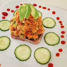 Kick up your Wild Planet Tuna Salad with Siracha and Sweet Potatoes like this Instagram fan!