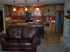 Open Kitchen Family Area Room   When renting 1 bedroom 1½ baths or 2 bedrooms and 2½ bath unit, the ...