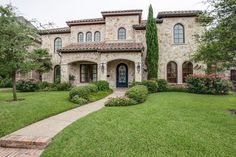Tuscan style home, Dallas, Texas