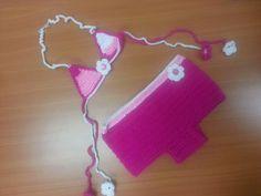 Traje de baño tejido a crochet