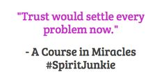 a course in miracles wisdom