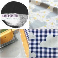 Screenprinting fabric