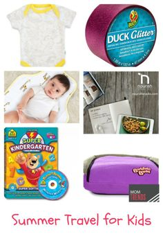 Summer Travel: some of our favorite finds to make this summer's adventures with the kiddos easier. http://www.momtrends.com/2014/05/summer-travel-for-kids/