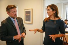 Princess Mary visited a foundation All which she is the godmother and All which is supported by aussi Princess Mary Foundation.