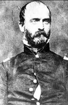 General Lewis Armistead  The best friend of Winfield Scott Hancock of the Union army.  Armistead's division was  the confederate division to  breach the bloody angle at Gettysburg. He was attacking  Hancocks division. Hancock was wounded Armistead was killed at Gettysburg. Served in California together before the civil war. Both exceptional leaders of men. Arimistead's Uncle was the general of Fort Mc Henry  during the Battle of 1812 and where Francis Scott Key wrote our national anthem.