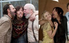 TWD Cast Complains About Norman Reedus Licking...He's a licker, not a fighter.