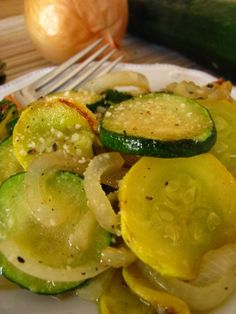 Zucchini and Summer Squash with Parmesan   Tasty Kitchen: A Happy Recipe Community!
