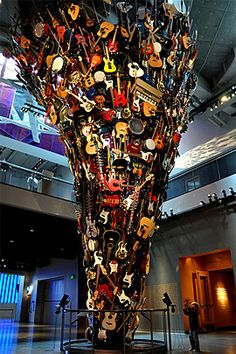 Rock n' Roll hall of fame-Awesome #rockandroll #music #locallygrown #cle #216 @Rock and Roll Hall of Fame and Museum