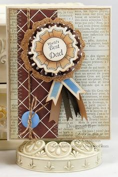 #justrite, Father's Day Card designed by Mona Pendleton using You are the Best