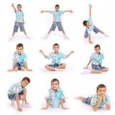 Yoga Poses for Kids #yoga #yogaposes #fitness