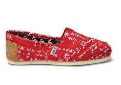 Toms are so delightful...and these have math on them!  That makes them delightful to the second power! :]