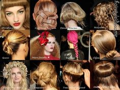 hair does, crazy hair, catwalks, crunches, beauty products, style hair, curl, hairstyl, knot
