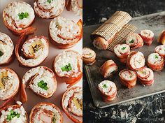 Bacon-Wrapped Sushi #mindblown