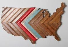 Reclaimed United States  #munire #pinparty #MadeinUSA