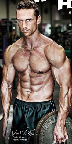David Morin by Jason Ellis for Dymatize (2012) #DavidMorin #GetMorin #JasonEllis #Dymatize #malemodel #model #fitnessmodel #fitness #gym #muscles #workout
