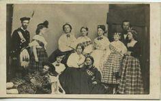 June 1864 Sanitary Fair tableau.