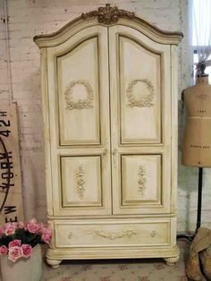 Painted Cottage Chic Shabby Old World Romantic by paintedcottages, $1295.00