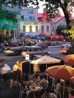 ...Quebec City...