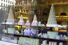 La Duree is finally in the states! (storefront in NY) favorit place, boutiques, foods, window, bakeries, display, jador pari, pari macaron, eyes