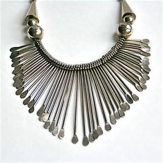 TRIBAL Necklace Vintage Ethnic Jewelry by RussianRarities on Etsy, $35.00
