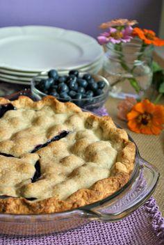 Double Crust Blueberry Pie Recipe