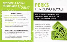A loyal customer simply agrees to buy one product a month for 3 months.