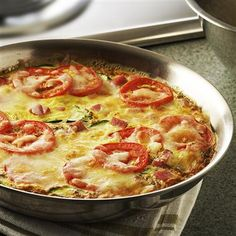 Try a frittata for your next family gathering! Mark's favorite is the Italian Herb Frittata. dinner, herbs, food, frittatas, breakfast, italian herb, easter party, herb frittata, egg whites